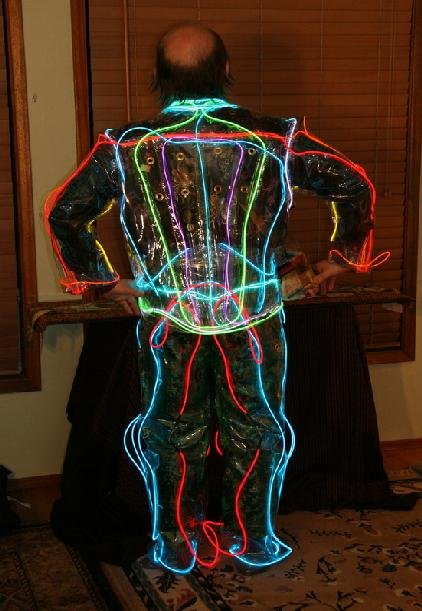 Wire Suit Back